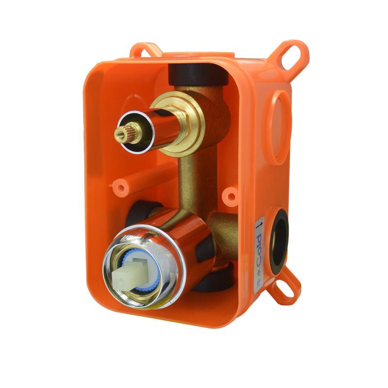 Mbox dvojcestné podomietkové teleso s keramickým prepínačom