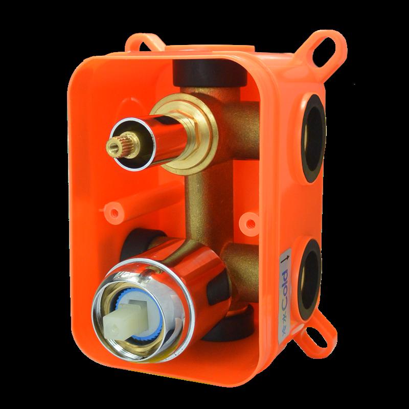 Mbox trojcestné podomietkové teleso s keramickým prepínačom