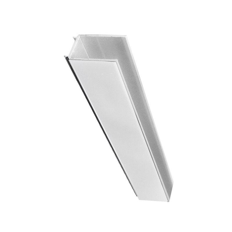 Lišta fixačná a vymedzovacia pre sprchové kúty a dvere, chróm ALU, výška 1900 mm