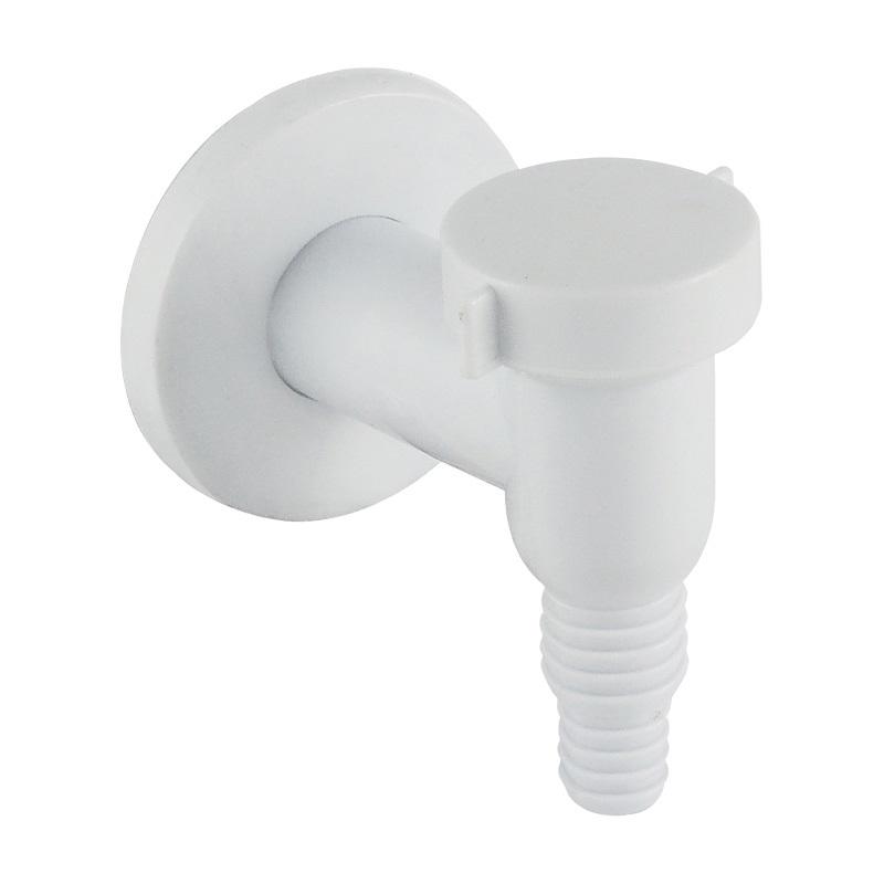 Sifon pračkový se zpětnou klapkou ø 32 mm, bílý plast (PR7015)