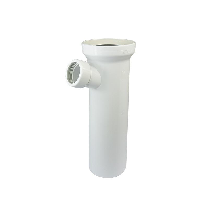 Připojovací kus DN 100/D 110, 400 mm, s odbočkou DN40, 6/4