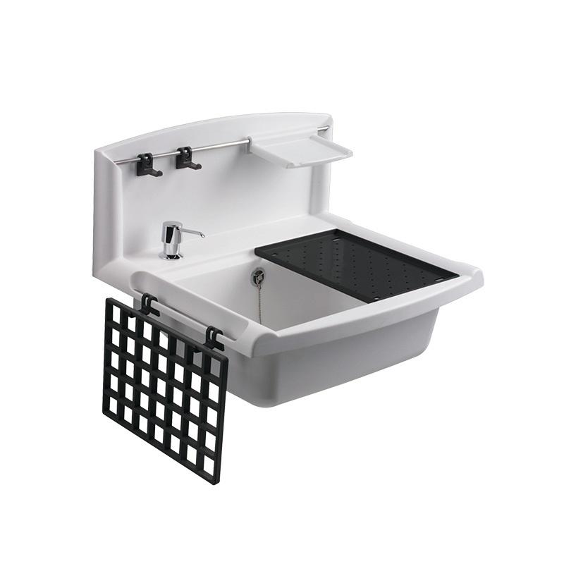 Držák na mýdlo pro umyvadlo Multiset, bílý (PR7181B (60A03010099))