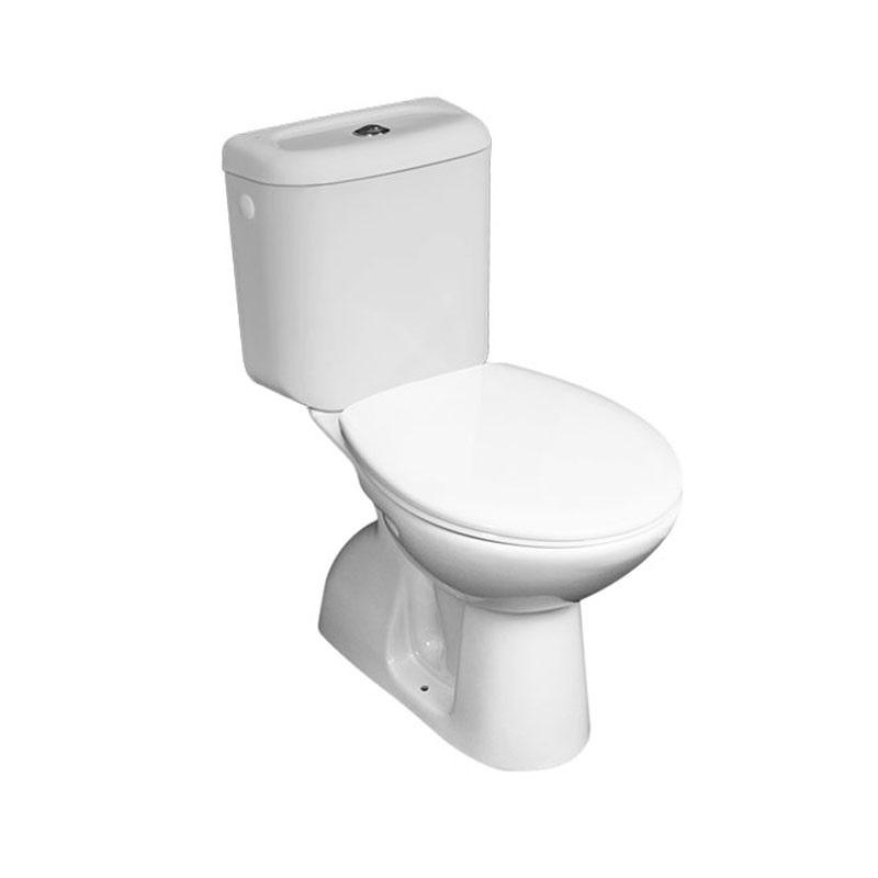 WC kombi, spodný odpad s armatúrou