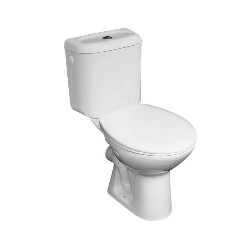 WC kombi, zadný odpad s armatúrou