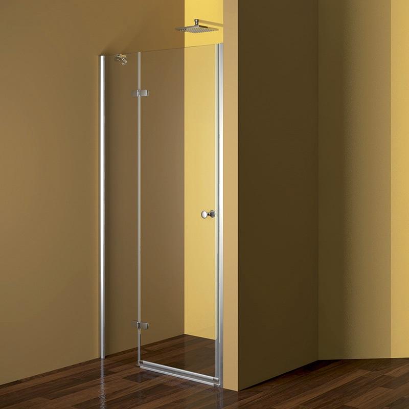 Sprchové dveře, Fantasy, 120x190 cm, chrom ALU, sklo Point, pravé provedení (CK10412PE)