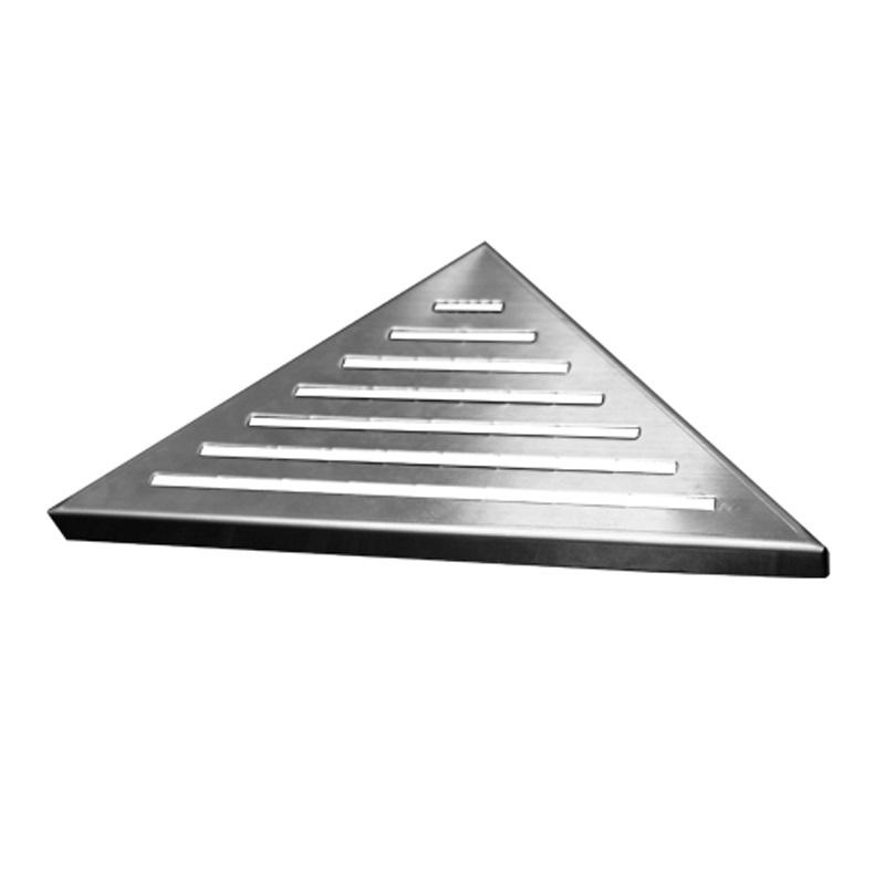 Rošt Line pro odtokový žlab Triangel, 21x21 cm, nerez (CZ81)