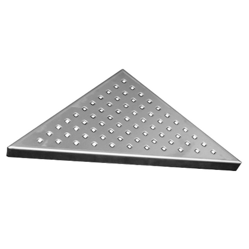 Rošt Square pro odtokový žlab Triangel, 21x21 cm, nerez (CZ82)