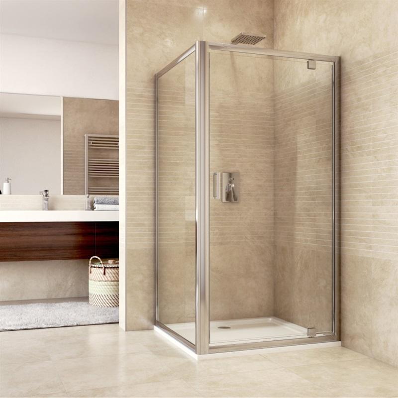 Shower Enclosure Glass Door 80 cm
