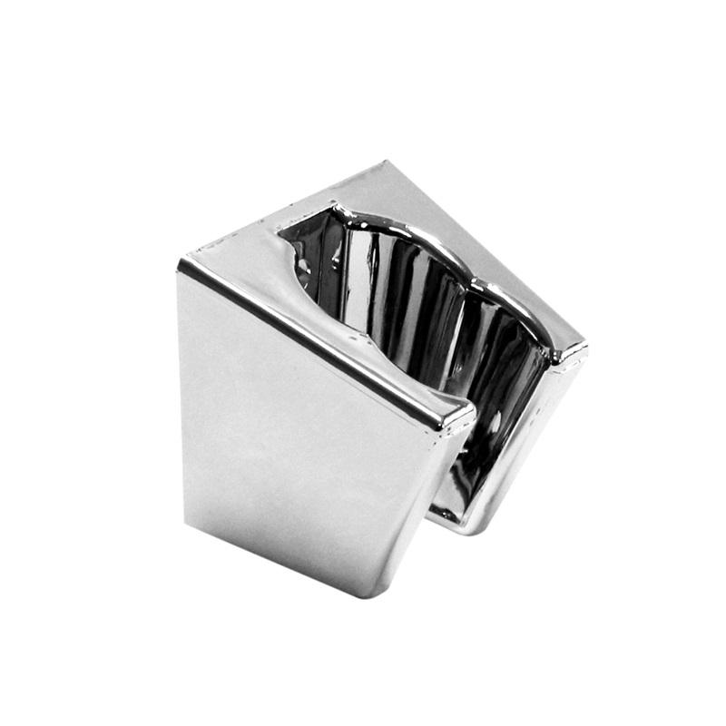 Držák sprchy polohovací, plast/chrom (CB466C)