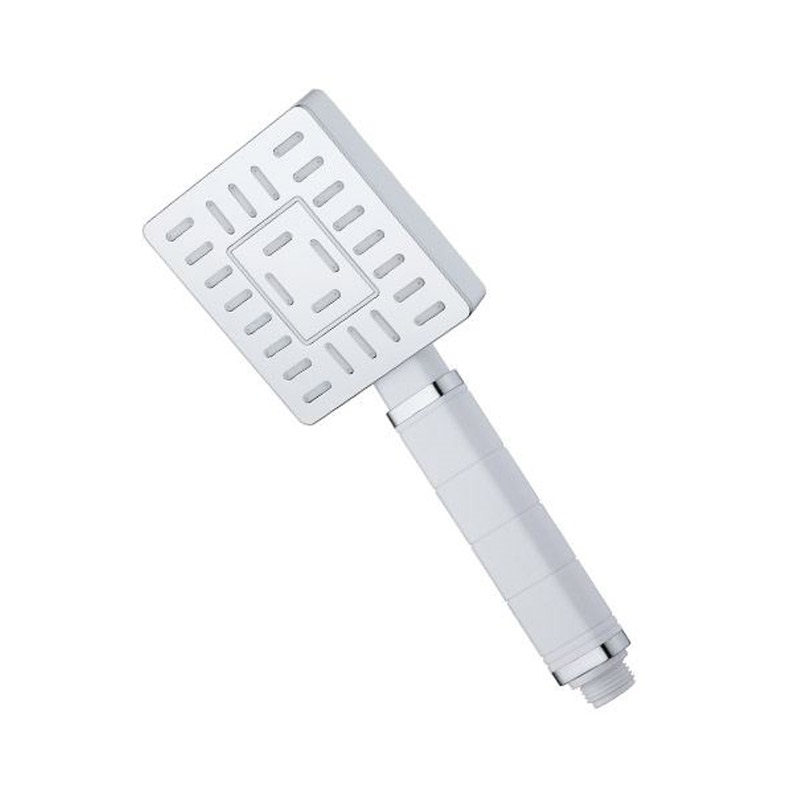 Ručná sprcha jednopolohová hranatá  9x10,5 cm