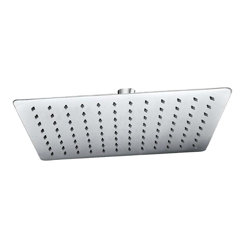 Tanierová sprcha horná, Slim, obdĺžnik 300x200mm, s kĺbom