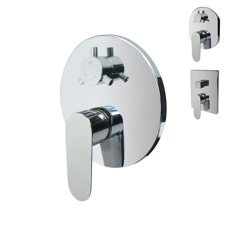 Sprchová podomietková batéria s trojcestným prepínačom, Viana, Mbox