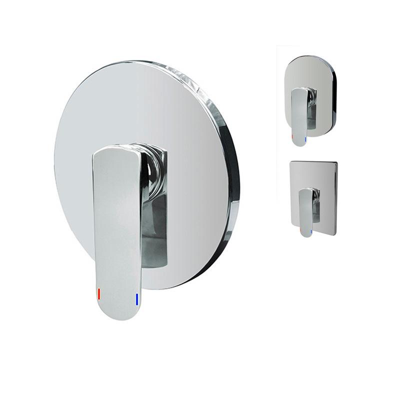 Sprchová podomietková batéria bez prepínača, Mada, Mbox
