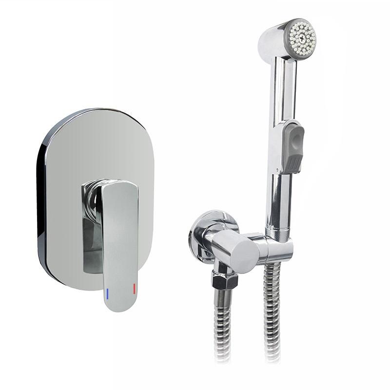Podomietková batéria s bidetovou sprchou, Mada