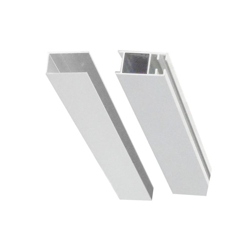 Mereo, Lišta fixačná a vymedzovacia pre sprochové kúty a dvere, chróm ALU, výška 2000 mm CKND250Z2