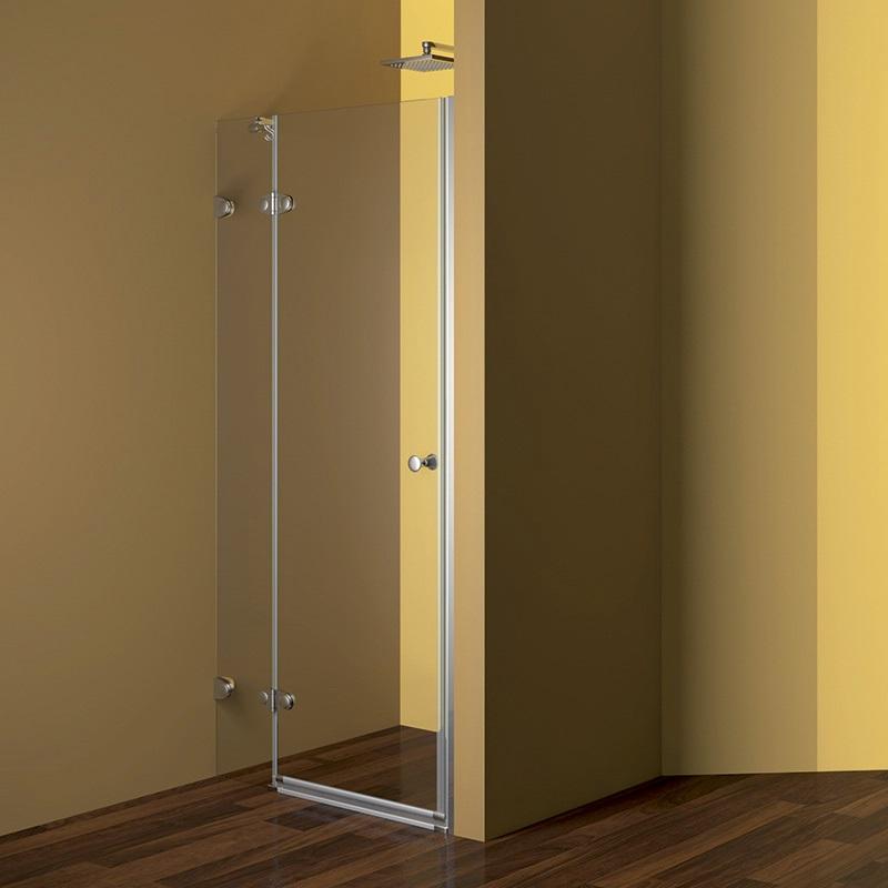 Mereo, Sprchový dvere, Fantasy, 80x190 cm, chróm ALU, sklo Číre CK10120E