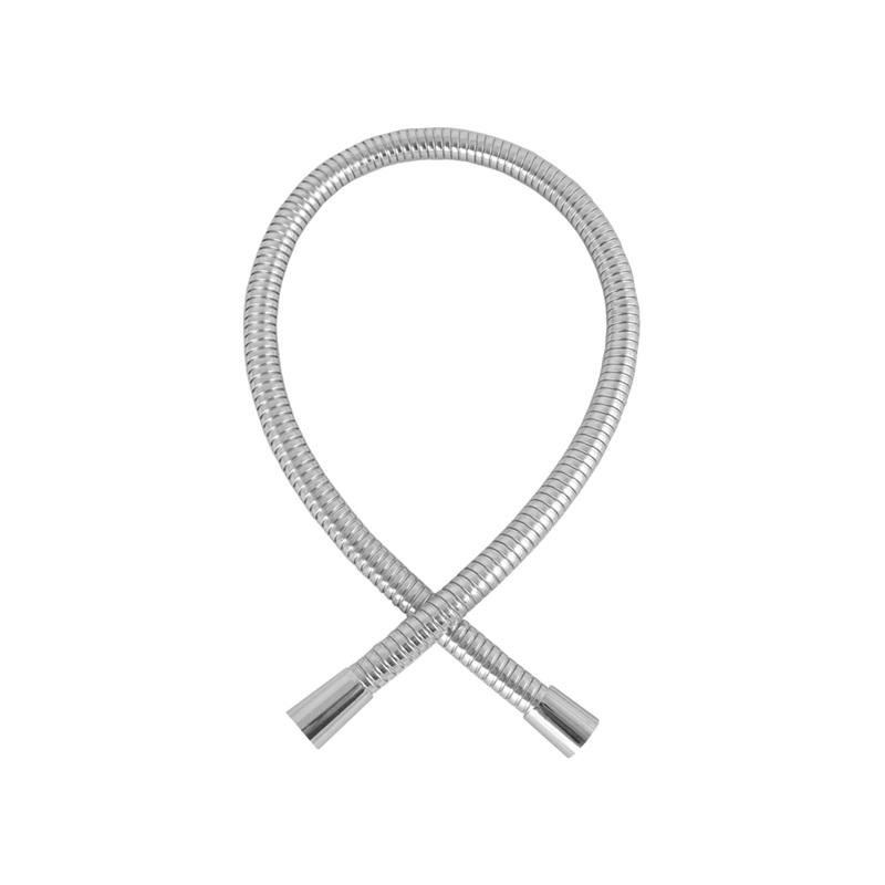 Mereo, Sprchová hadica dvojzámková 55 cm, prepojovacia, nerez CB111K