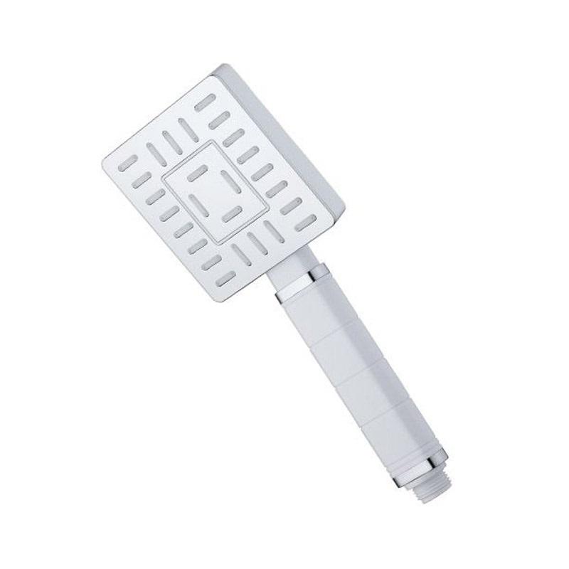 Mereo, Ručná sprcha jednopolohová hranatá  9 x 10,5 cm CB475B