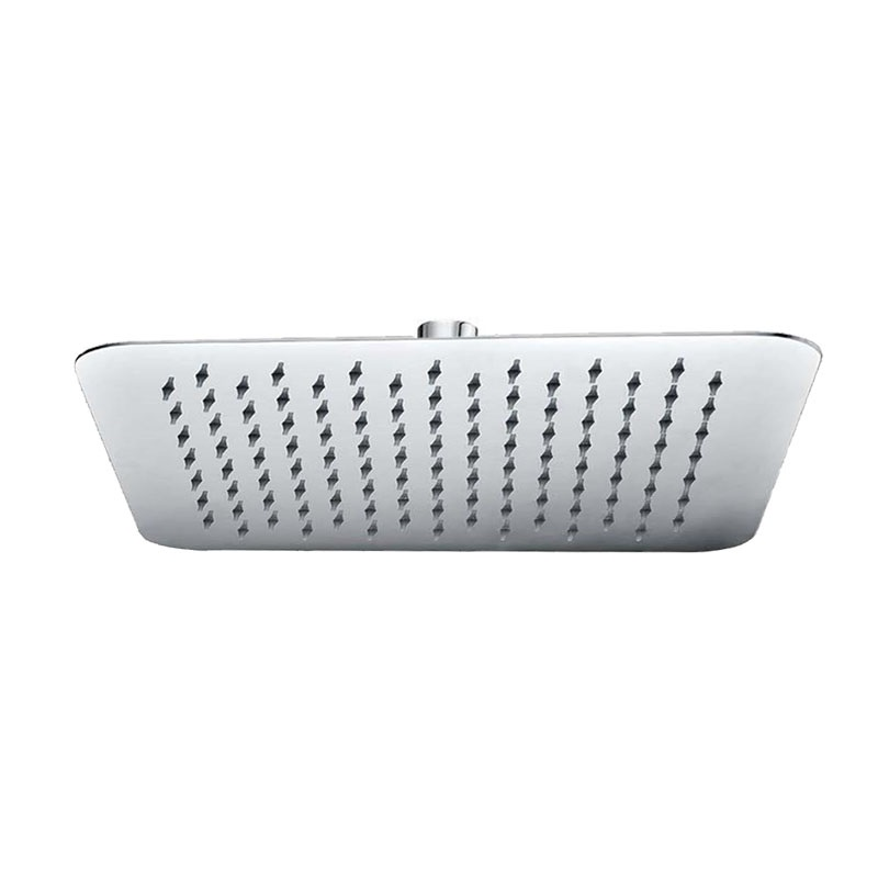 Mereo, Tanierová sprcha horná, Slim, hranatá 200x200 mm s kĺbom, nerez CB485F