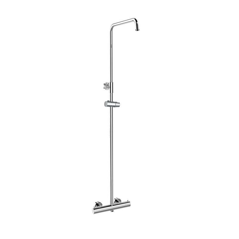 Mereo, Termostatická nástenná sprchová batéria so sprchovou súpravou bez prísl. (tanier, sprcha, hadica) CB60104TS1