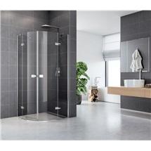 Sprchový kout, Fantasy, čtvrtkruh, 90 cm, R550, chrom. profily