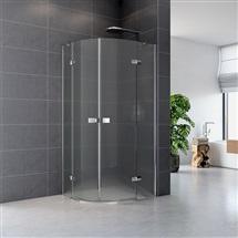 Sprchový kout, Fantasy Exclusive, čtvrtkruh, 90 cm, R550, chrom. profily
