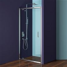 Sprchový dveře pivotové, Mistica Exclusive, chrom. profily, sklo Čiré