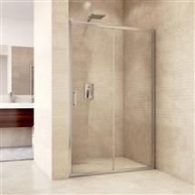 Sprchové dvere zasúvacie, Mistica, 120x190 cm, chróm. profily